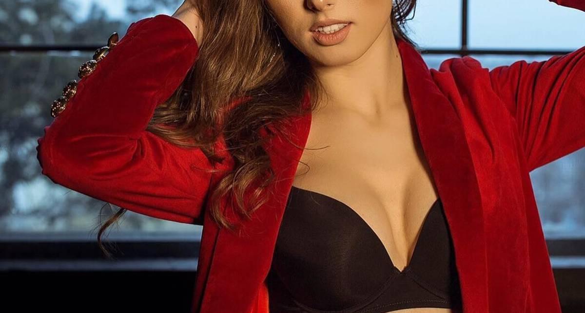 Красотка дня: Винницкая модель Карина Олих