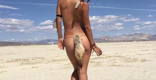 Burning Man 2018: Лучшие фото первого дня фестиваля для раскрепощенных