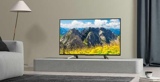 Телевизор Sony XF75: погружаемся в мир развлечений