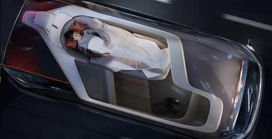 Беспилотный электромобиль с кроватью: Volvo показал концепт