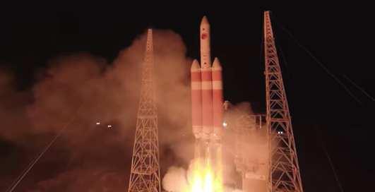 Появилось панорамное видео запуска зонда к Солнцу