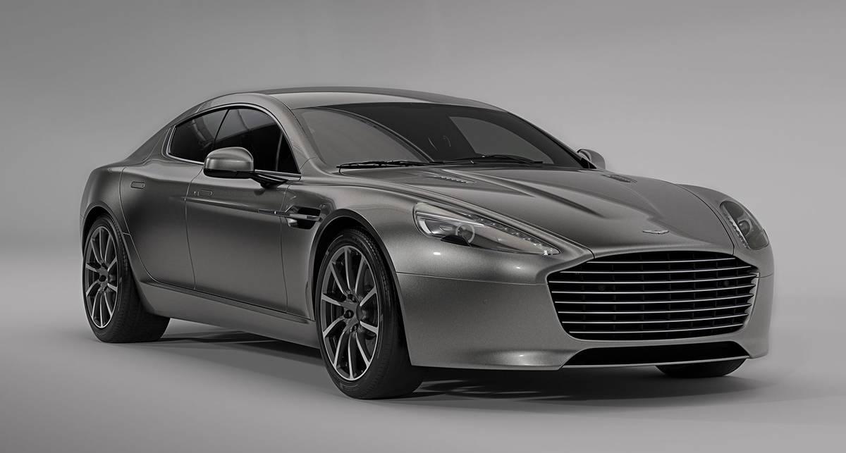 Стали известны характеристики электромобиля Aston Martin Rapide E