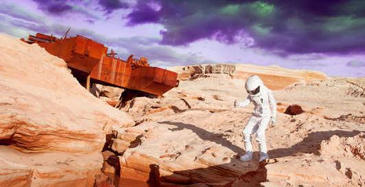 Стало известно, когда человек сможет пройтись по Марсу