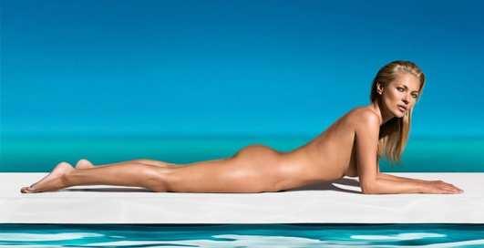 Уже не та: Папарацци засняли бывшую модель Кейт Мосс на яхте