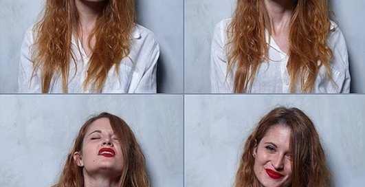 Как выглядят женщины до, во время и после оргазма