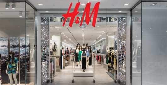 Масс-маркет H&M открыл второй магазин и спровоцировал ажиотаж