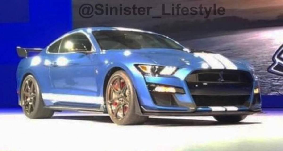 Самый мощный Ford Mustang всех времен: первые фото