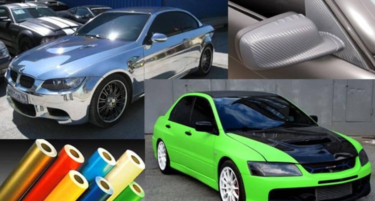 Виниловая пленка — смена внешности авто плюс защитные свойства