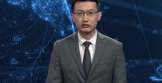 Робот-телеведущий: в Китае новости ведет искусственный интеллект