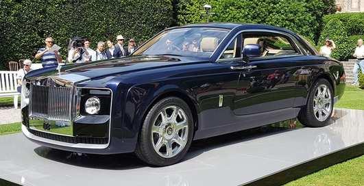 Rolls-Royce начинает производство самого дорогого авто в мире