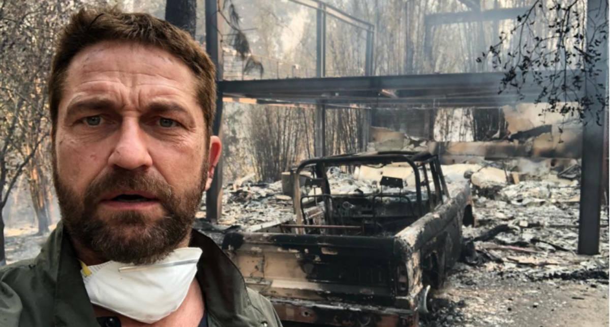 В Малибу дотла сгорел дом Джерарда Батлера