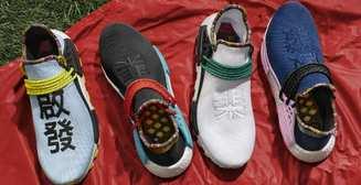 Фаррелл Уильямс сделал коллекцию кроссовок для Adidas
