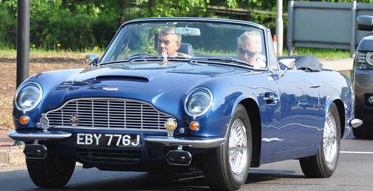 Aston Martin принца Чарльза работает на белом вине