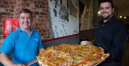 Ирландский спор: съешь пиццу - получишь 500 евро