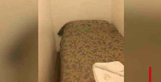 Как выглядит самый маленький гостиничный номер?