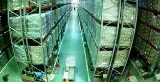 Страшный сон: Видео грандиозного разрушения склада кладовщиком