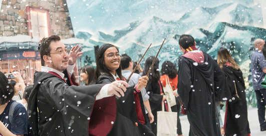 Аэропоттер: в Сингапуре украсили аэропорт в стиле вселенной Гарри Поттера