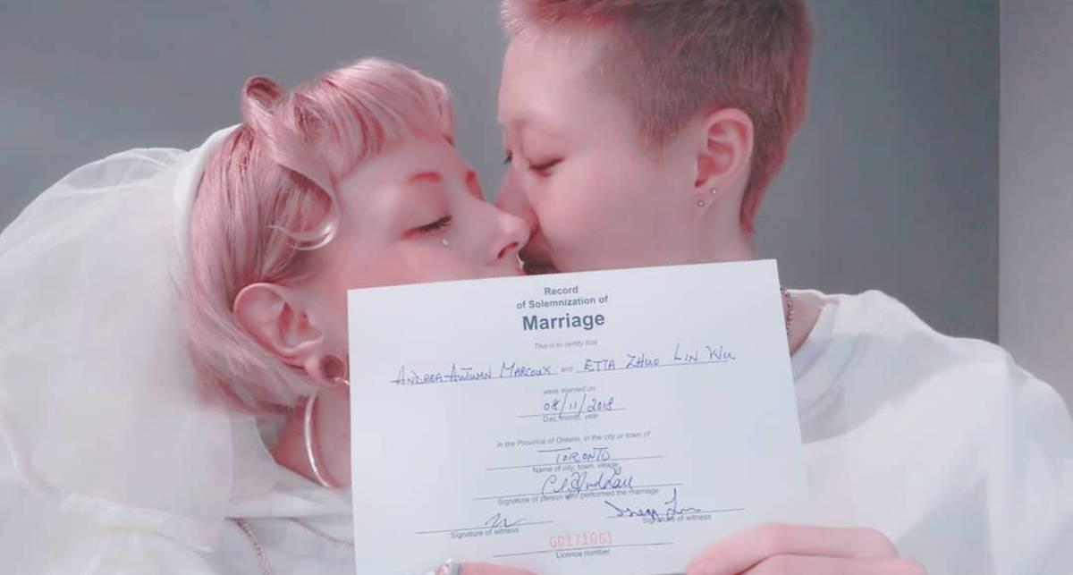Дочь Джеки Чана вышла замуж за девушку