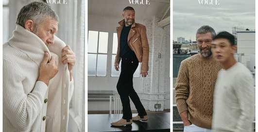 Венсан Кассель в стильной фотосессии для Vogue Korea