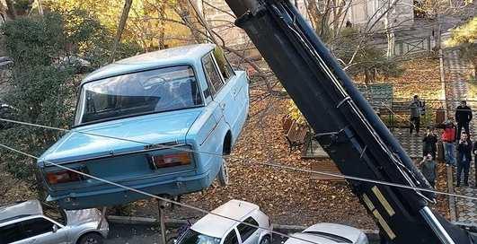 В Грузии мужчина 27 лет хранил Жигули шестерку на балконе