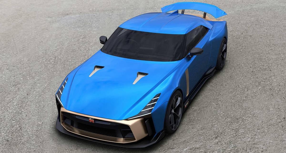 Nissan показал новейший суперкар GT-R50 за 1 миллион евро