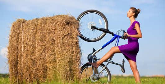 Крути педали: велосипед улучшит секс