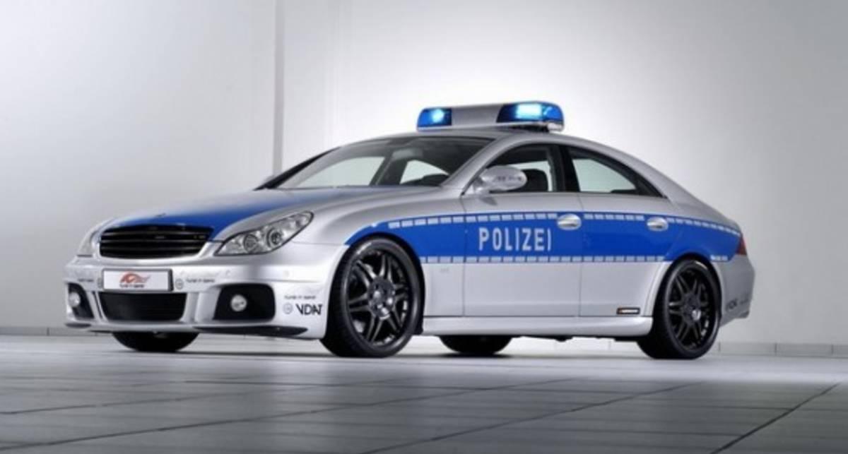 Лучшие полицейские тачки мира