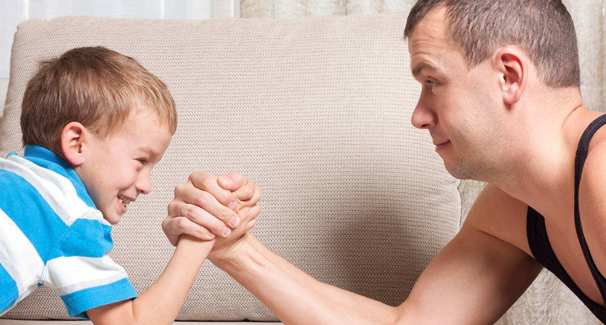 Как сделать из сына настоящего мужика