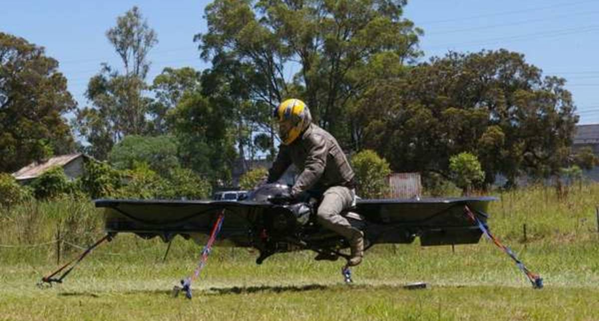 Hoverbike: мотоцикл, который умеет летать