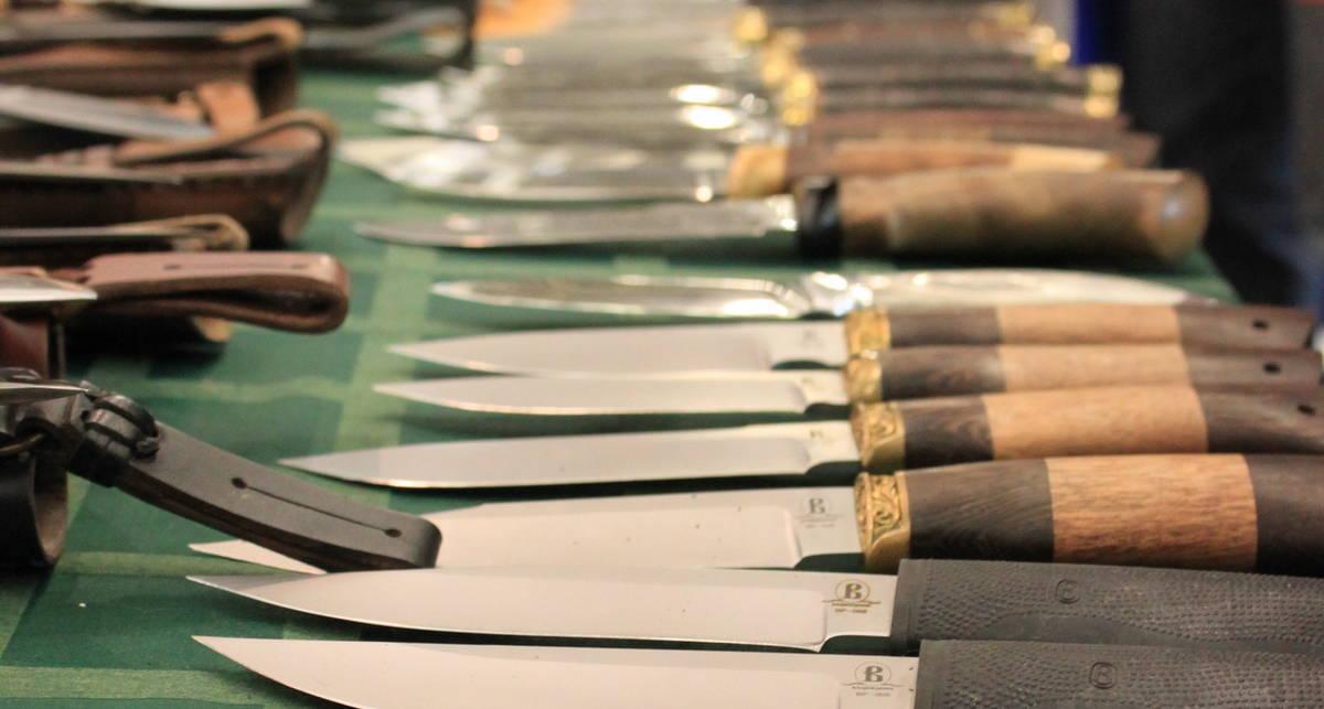 Киев на острие: супер-выставка ножей