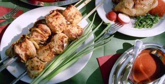 Без мангала: готовим шашлык на сковородке