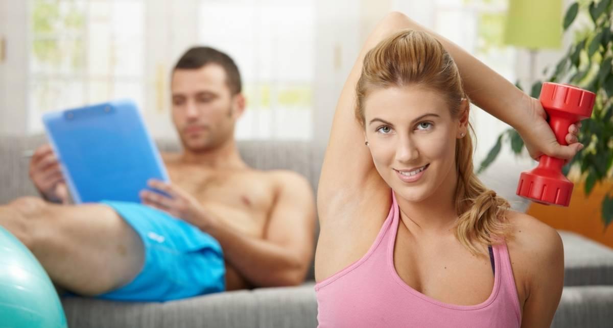 Домашняя тренировка: правила безопасности
