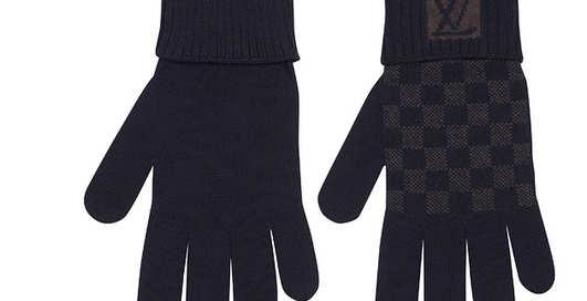 Греем руки: перчатки от Louis Vuitton