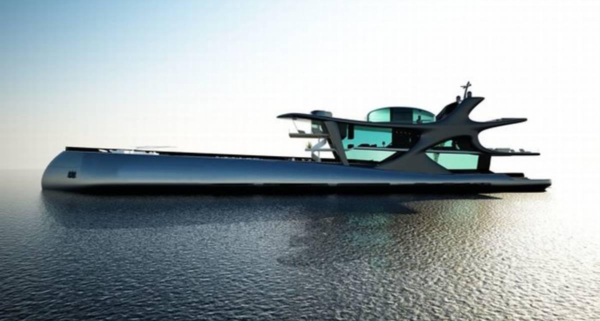 Игрушка дня от M PORT: яхта Белуга