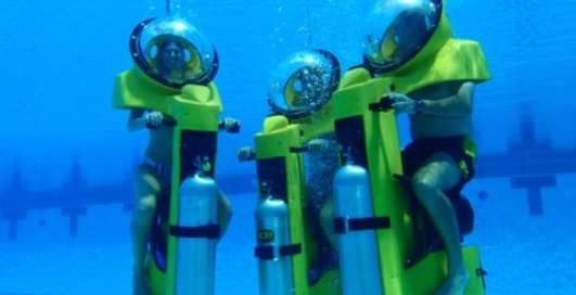 Гонки под водой: мотоцикл HydroBOB