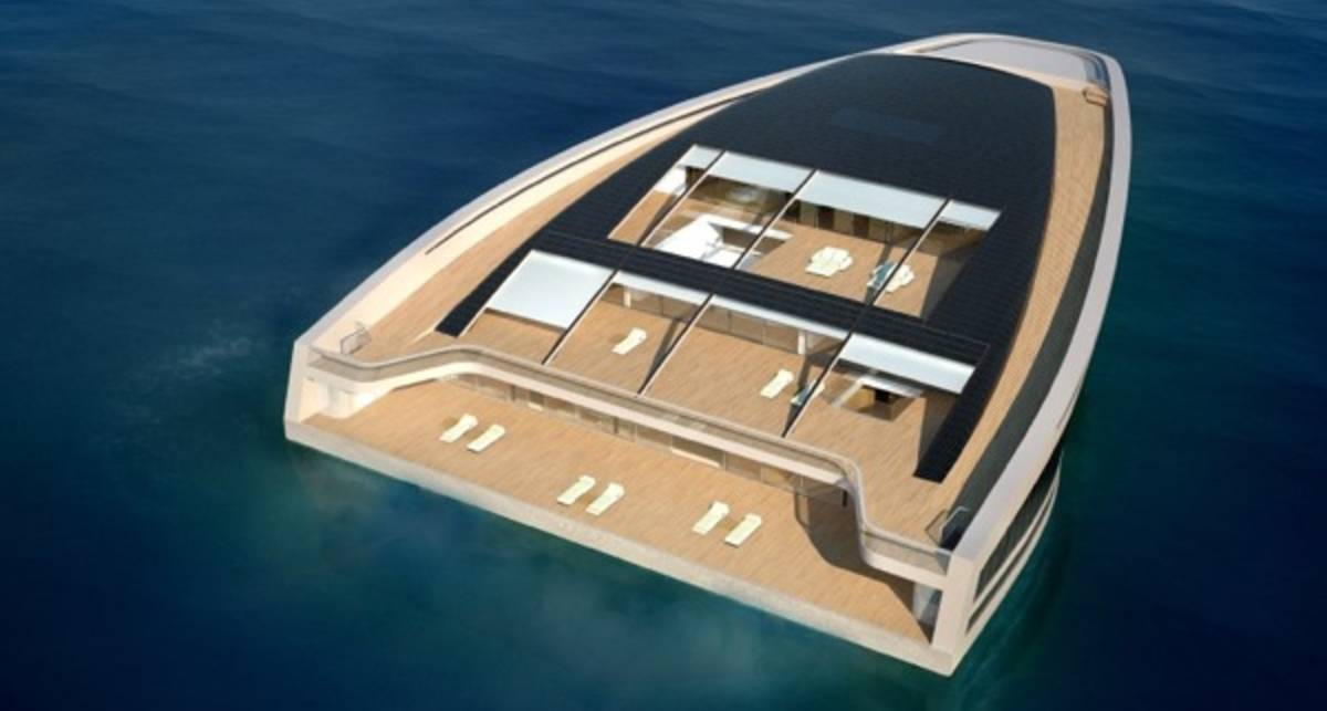 Игрушка дня: яхта размерами с остров