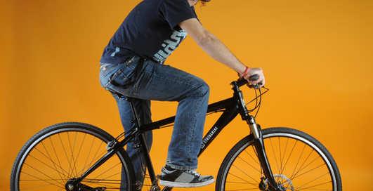 Игрушка дня: велосипед без цепи