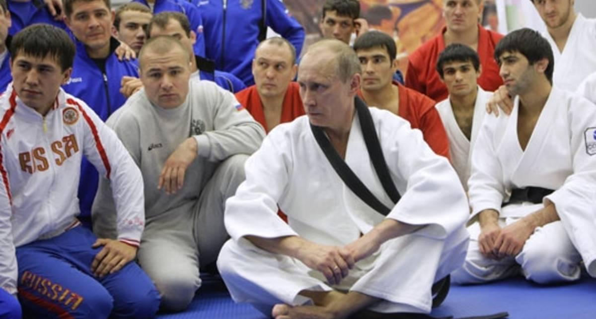 Мастер-класс Путина по борьбе