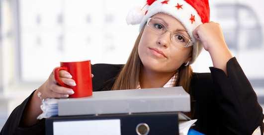 Как после праздника настроиться на работу