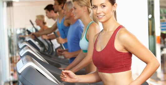 Как сбросить вес на беговой дорожке?