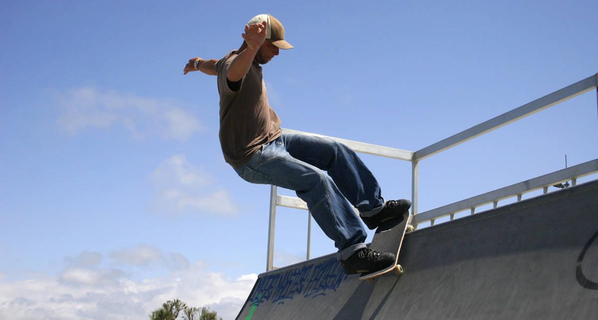 ТОП-6 экстремальных падений со скейта
