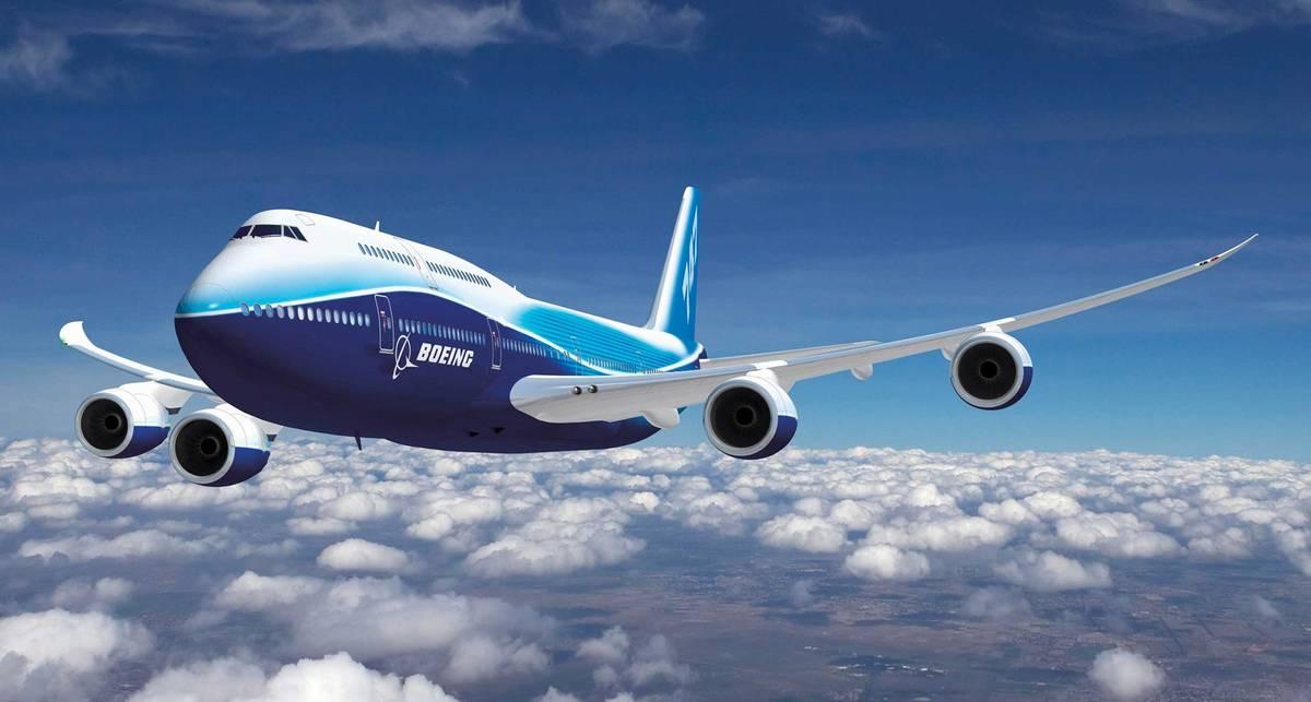 Новый Боинг-747: длиннее, чем у других