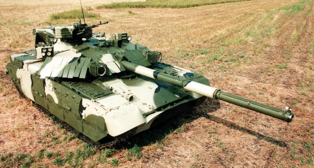 Украинский танк Оплот: завидуйте, арабы!
