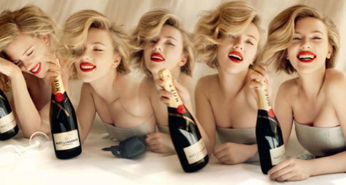 Скарлетт Йохансон: красиво пить не запретишь