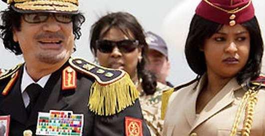 Женский гарнизон: охранницы Каддафи