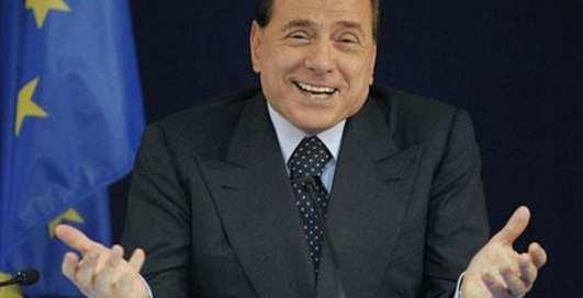 Как Берлускони плясал с лесбиянками