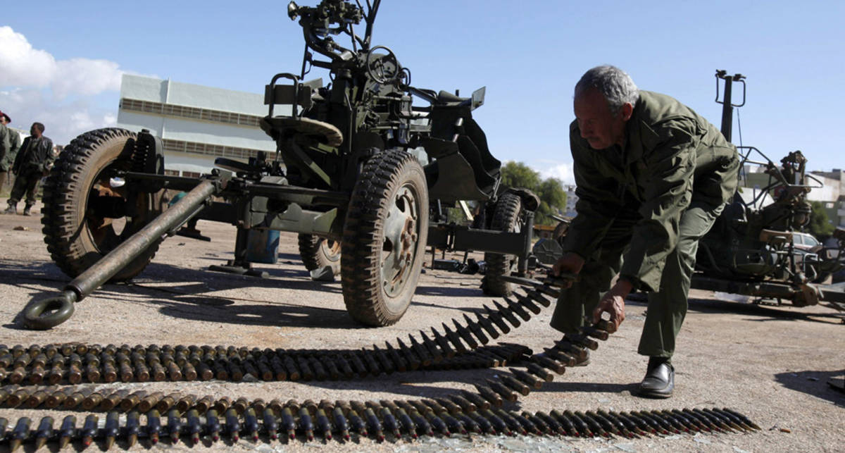 Ливия под прицелом: из чего стреляют повстанцы