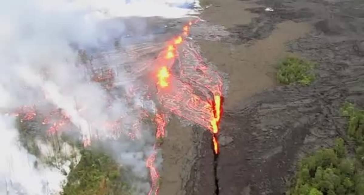 Гавайский Армагеддон: лава хлещет через край