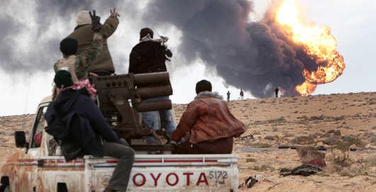 Каддафи побеждает: кровавые бомбежки в Ливии