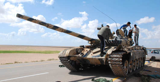 Ливийский боевик: лучшие видео c войны